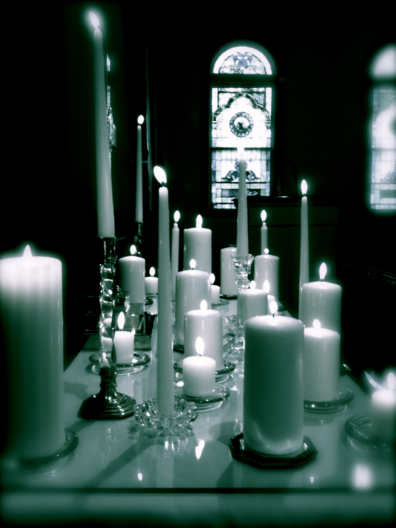 All Saints Candles